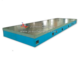 Lineation surface plates